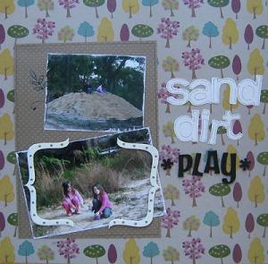 sand dirt play